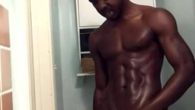 Huge Black Monster Cock Strokes And Nuts