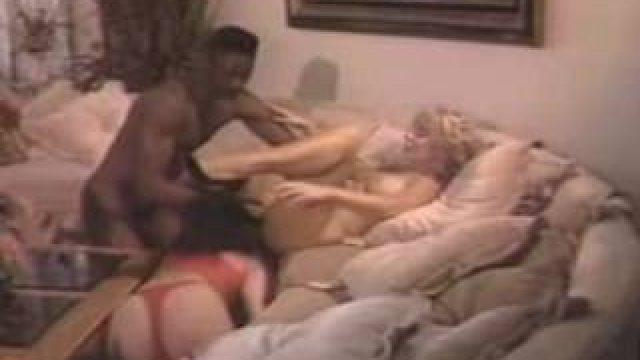 Nina Hartley Interracial Anal with Sean Michaels