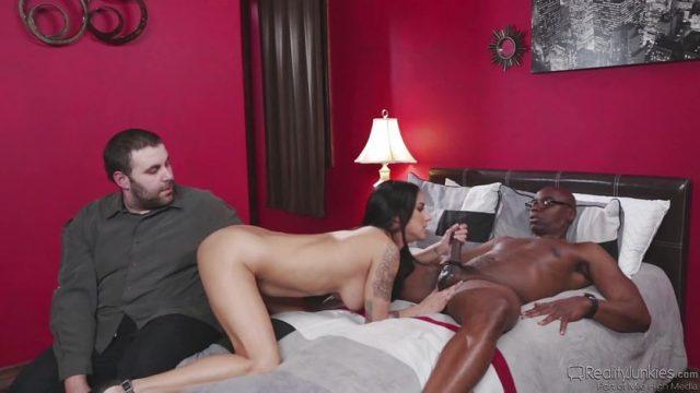 Naughty wife Nadia Styles gets interracial fucking