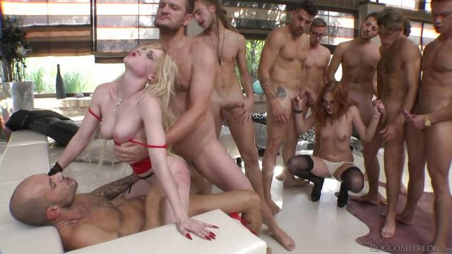 Rossella Visconti and her friend getting fucked in every hole