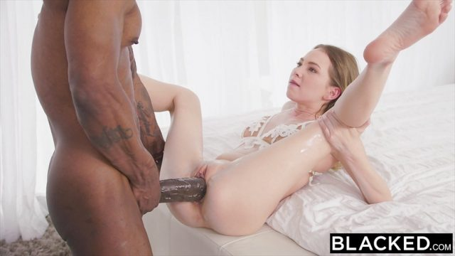 BLACKED Petite blonde with the biggest bbc in the world