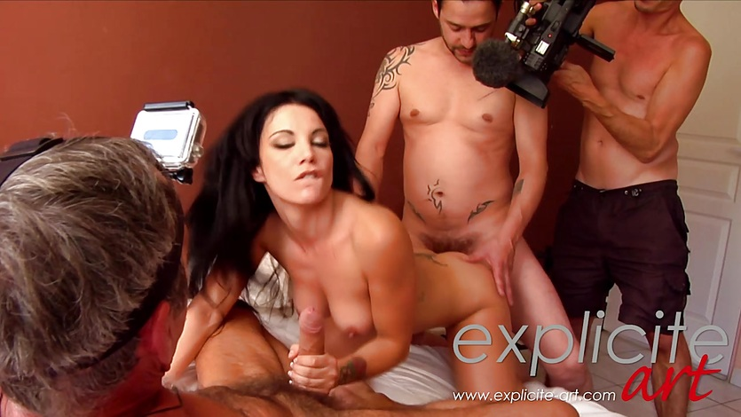 First anal and DP casting