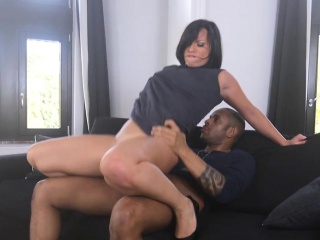Slut takes schlong in ass