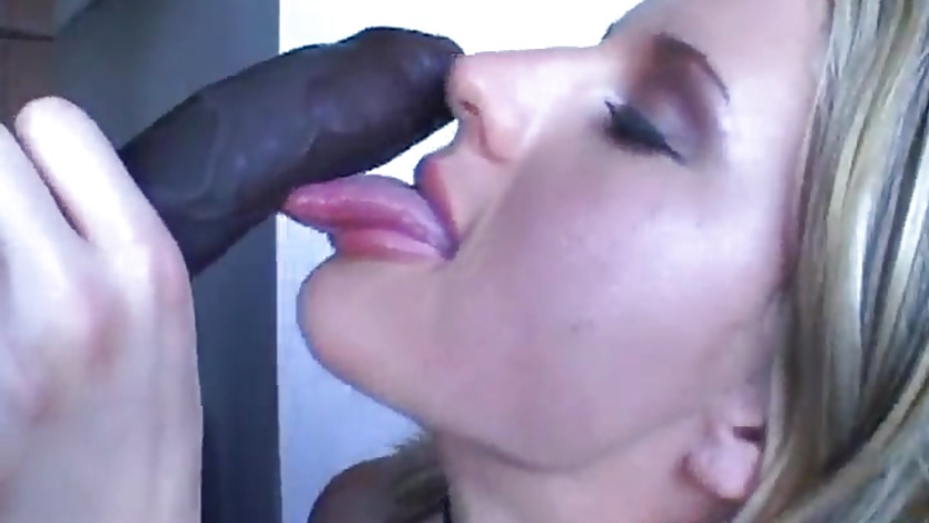 Blonde milf big boobs interracial anal big black cock
