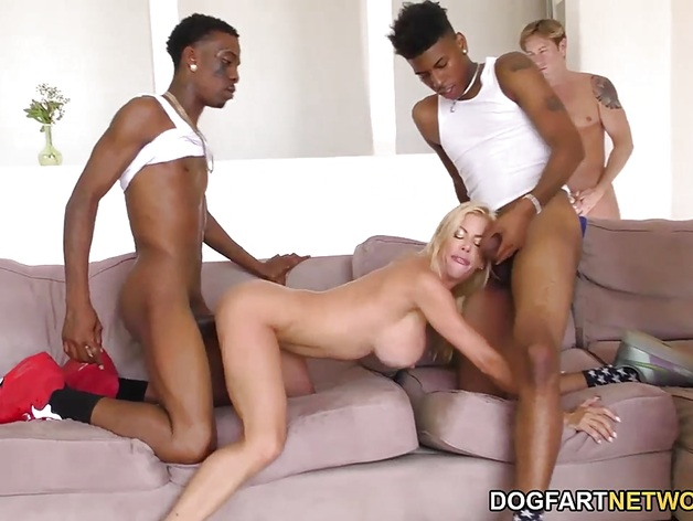 Sexy Alexis Fawx Squirts All Over Her Cuckold's Face