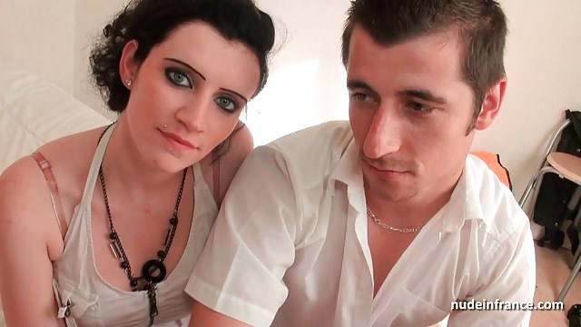 Anal sex and double penetration for a young french couple
