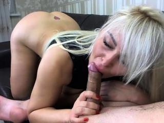 Big tit blonde milf fucks big cock