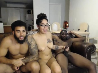 Big Titty MILF in Interracial Threesome