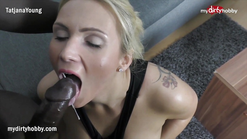 My Dirty Hobby – Busty blonde take a big black rod