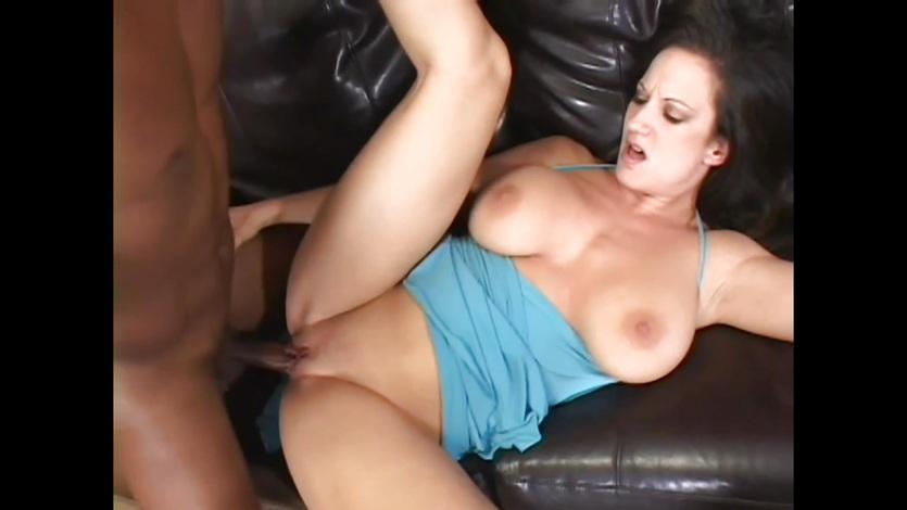 Stephanie Wylde takes a huge dick deep in her wet pussy