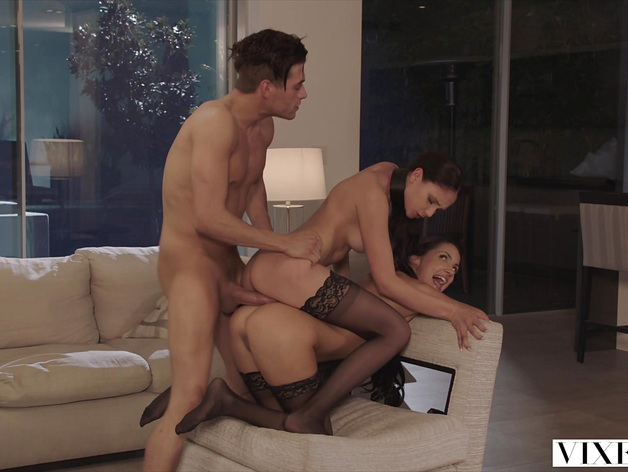 VIXEN Ariana Marie and her Friend Are Dominated By Huge
