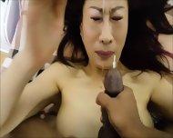 Asian Whore Unwanted Facial  Orgasm