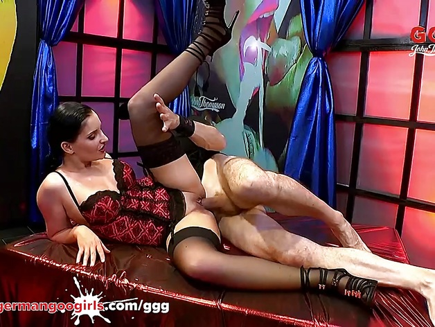 German Goo Girls – Lucia DenVille The sperm swallower