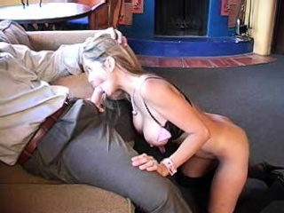 Four big cocks for one busty blonde MILF