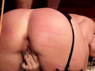 Big cock tutor bangs student and her mom