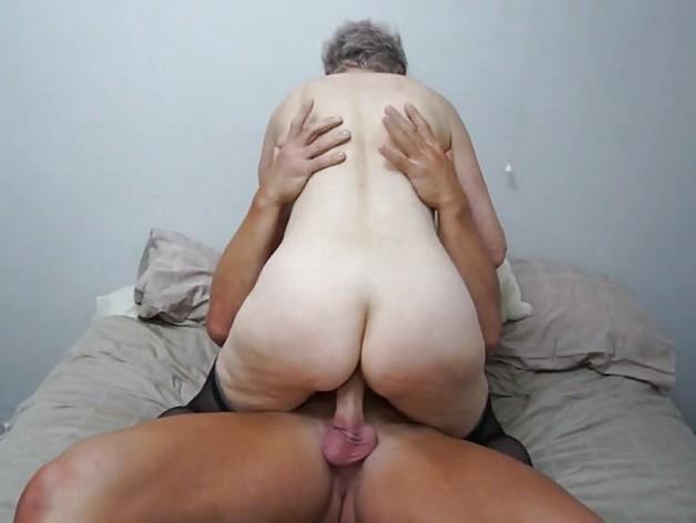 British mature Lady fucks stud