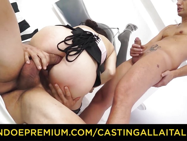 Cute MILF has double anal fun
